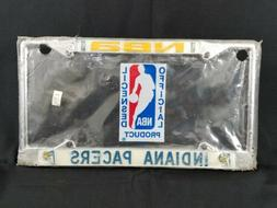 Indiana Pacers NBA Basketball 80s Vintage License Plate Meta