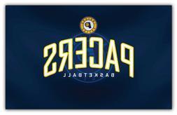 "Indiana Pacers  NBA Basketball Car Bumper Sticker Decal ""SIZ"