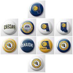 INDIANA PACERS - NBA basketball pinback buttons - sports tea