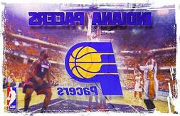 """Indiana Pacers NBA Basketball Sport Art Wall Poster 28"""" x 18"""