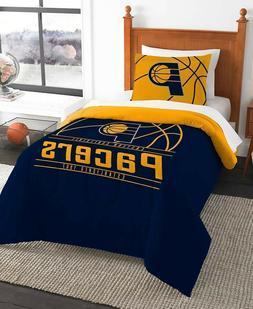 Indiana Pacers NBA Basketball Twin Comforter & Pillow Sham 2