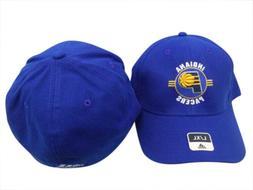 Indiana Pacers Adidas NBA Blue Structured FlexFit Hat Cap L/