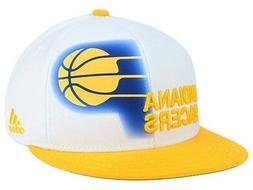 Indiana Pacers Adidas NBA Courtside Hat Flat Visor Flex 7 1/