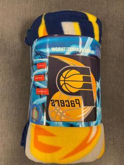 Indiana Pacers NBA Indianapolis Fleece Throw Blanket NEW