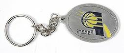 Indiana Pacers NBA Keychain & Keyring - Pewter
