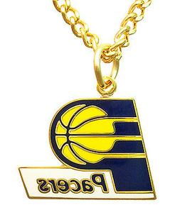Indiana Pacers NBA Logo Necklace
