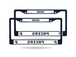 Indiana Pacers NBA  Navy Painted Chrome Metal License Plate