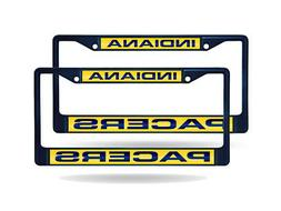 Indiana Pacers NBA  Navy Painted Metal Laser Cut License Pla