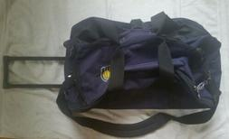 Indiana Pacers NBA Team Issued Travel Luggage Bag Blue