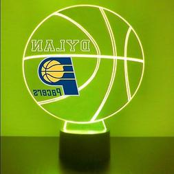 Indiana Pacers Night Light Personalized FREE, NBA Basketball