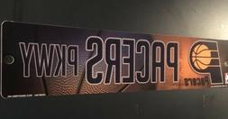 """Indiana Pacers Parkway Vinyl Street Sign 3-3/4"""" x 16""""  NEW"""