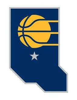 Indiana Pacers  Precision Cut Decal