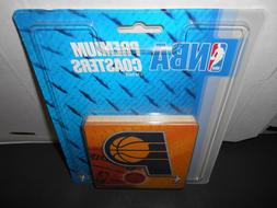 Indiana Pacers Premium Coasters.10 coasters in pack. 3-1/2""