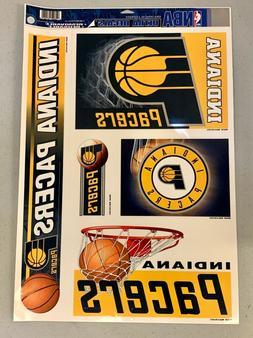 "Indiana Pacers Premium Logo 11.5""x17"" Ultra Decal Sheet Stic"