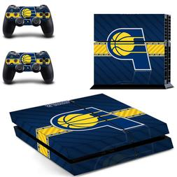 Indiana Pacers PS4 Skin Sticker Decal Vinyl Console + 2 cont