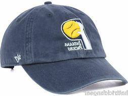 Indiana Pacers 47 Brand Relaxed Fit Clean Up NBA Basketball