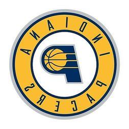 Indiana Pacers Round  Decal / Sticker Die cut