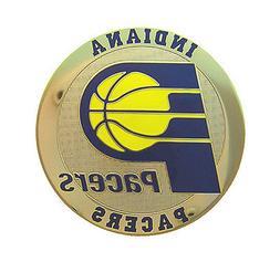 Indiana Pacers Round Metal NBA Logo Magnet