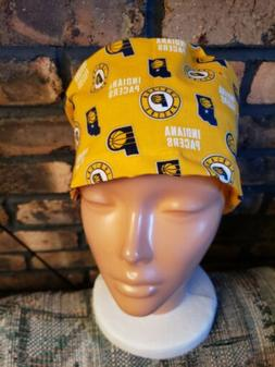 INDIANA PACERS  HANDMADE SURGICAL SCRUB CAP