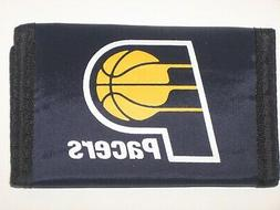 Indiana Pacers Trifold Nylon Wallet With Coin Pockets