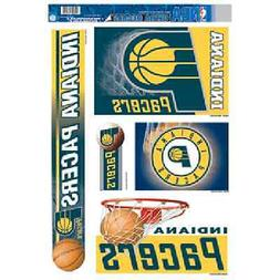 """INDIANA PACERS ULTRA DECALS 5-PACK 11""""X17"""" BRAND NEW FREE SH"""