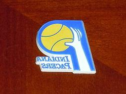 INDIANA PACERS Vintage NBA ABA RUBBER Basketball FRIDGE MAGN