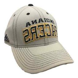 Indiana Pacers Adidas White Adjustable Structured Strapback