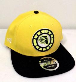 New Era Indiana Pacers Yellow  9FIFTY Snapback Hat