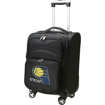 denco sports luggage indiana pacers 20 black