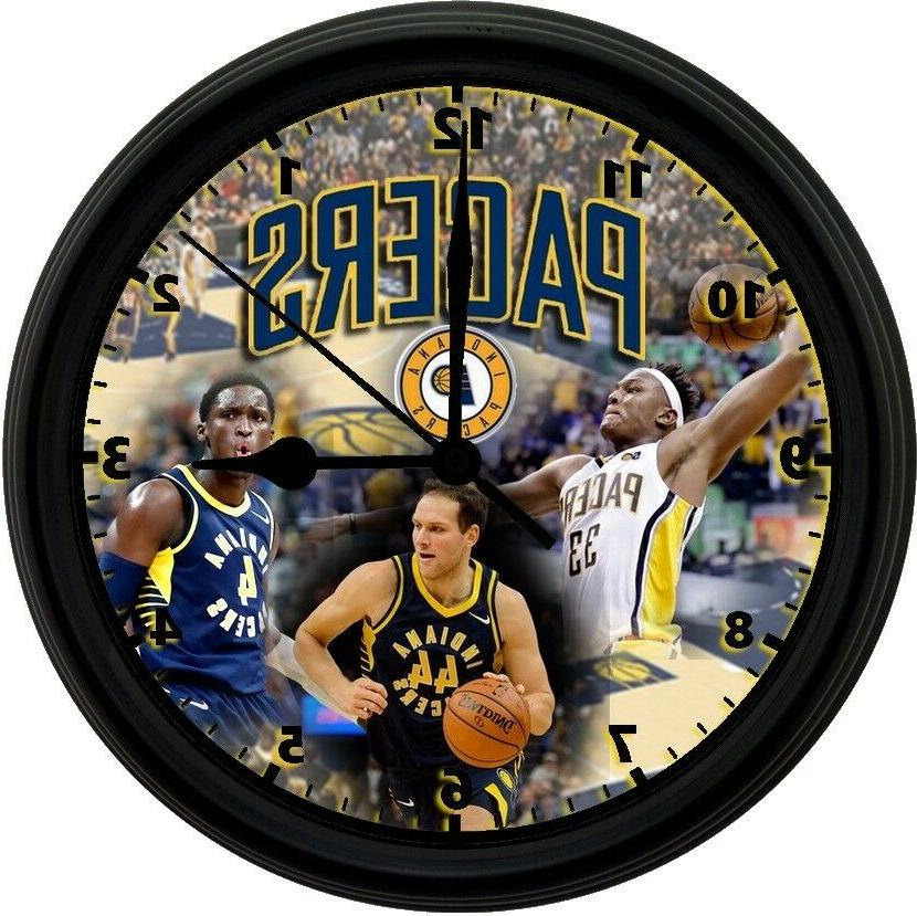 indiana pacers 8in unique homemade wall clock
