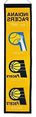 Indiana Pacers Heritage Banner Wool