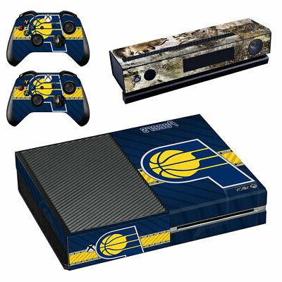 Indiana Pacers XBOX ONE Skin Sticker Decal Vinyl Console + 2
