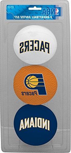 NBA Indiana Pacers Kids Softee Basketball , Small, Blue