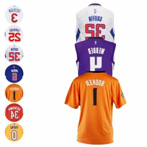 nba official replica basketball player jersey collection