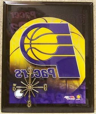 wall clock nba indiana pacers new decorated