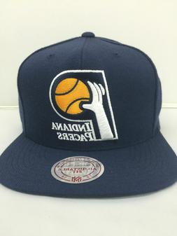 Mitchell & Ness NBA Indiana Pacers Team Color Logo Snapback