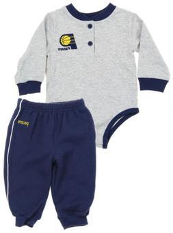 NBA Basketball Boys Infants Indiana Pacers Creeper and Pants