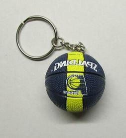 NBA Basketball Indiana PACERS Ball KEY CHAIN Ring Keychain N
