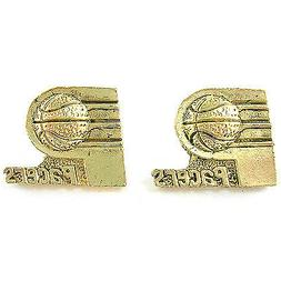 NBA Earrings Indiana Pacers Decorative Gold Jewelry