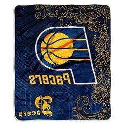 NBA Indiana Pacers Micro Raschel Throw Blanket, Street Edge
