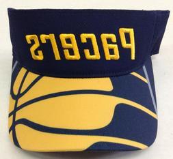 NBA Indiana Pacers Adidas Adjustable Back Sun Visor #W762Z N