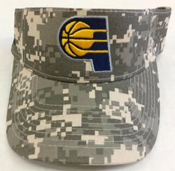NBA Indiana Pacers Adidas Army Digital Camo Adjustable Back