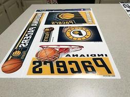 NBA Indiana Pacers Basketball Team Logo Window Cling Decal /