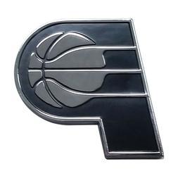 Fanmats NBA Indiana Pacers Diecast 3D Chrome Emblem Car Truc