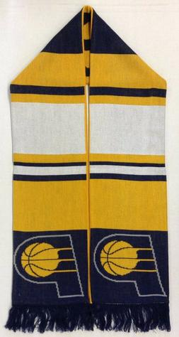 NBA Indiana Pacers Adidas Fringe Winter Knit Scarf Style #S5