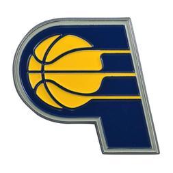 Fanmats NBA Indiana Pacers Diecast 3D Color Emblem Car Truck