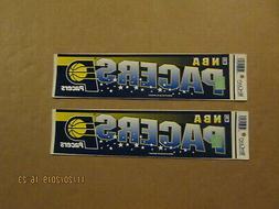 NBA Indiana Pacers Lot of 2 Circa 2000's Team Logo Basketbal