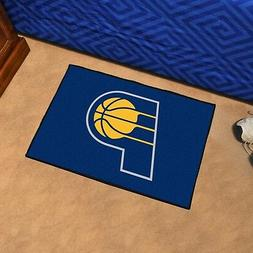 FANMATS NBA Indiana Pacers Nylon Face Starter Rug