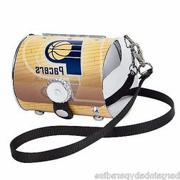 NBA Indiana Pacers Petite Aluminum Purse NEW IN BOX