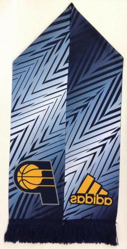 NBA Indiana Pacers Adidas Silky Feel Fringe Scarf Style #S52